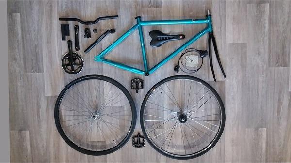 сборка велокастома