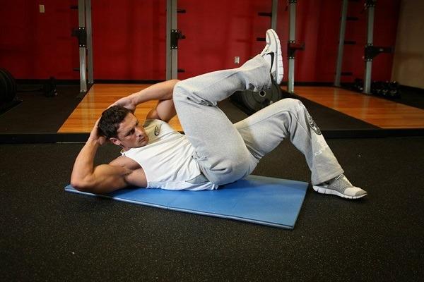 Упражнение Боксерские скручивания